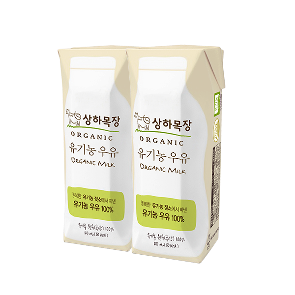 상하목장 유기농 우유 125mL