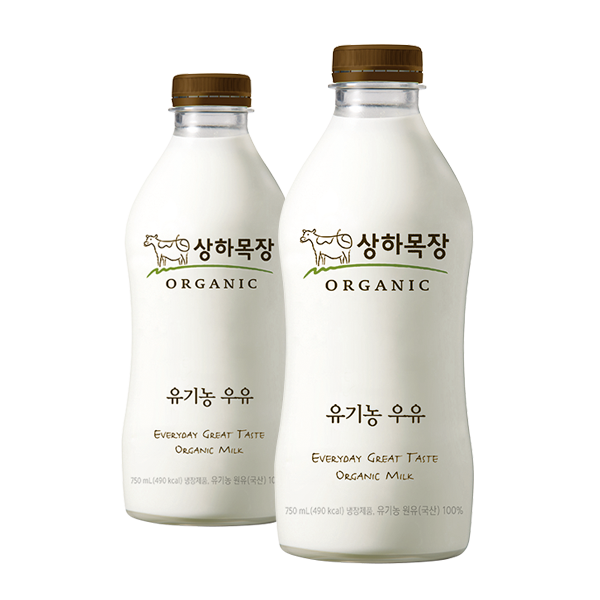 상하목장 유기농 우유