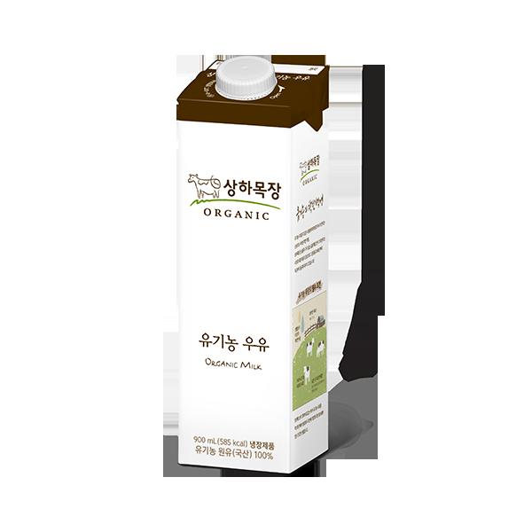상하목장 유기농 우유 900mL
