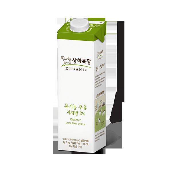 상하목장 유기농 우유 저지방 900mL